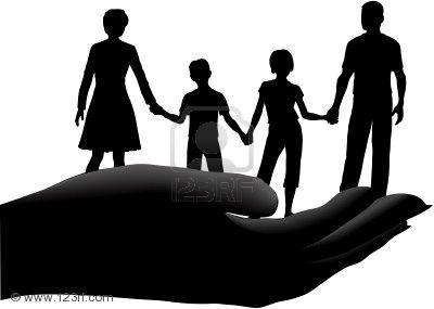 9117743 famille des enfants de p re m re tenue dans un. Black Bedroom Furniture Sets. Home Design Ideas